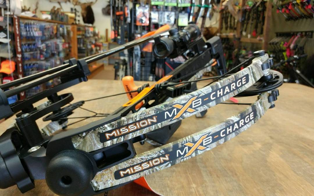 In stock at Bucks and Bulls Archery….