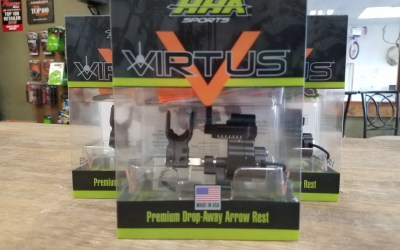 Virtus, The new arrow rest from HHA Sports is at Bucks and Bulls Archery