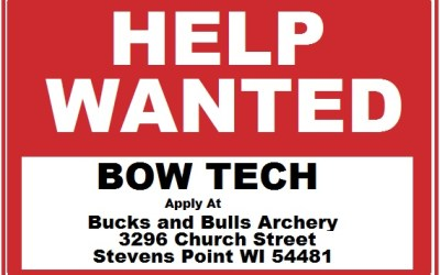 Looking to hire a Bowtech…