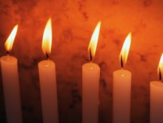 Hanukkah candles; photo MSClipArt