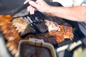 Grilling and basting; MSClipArt