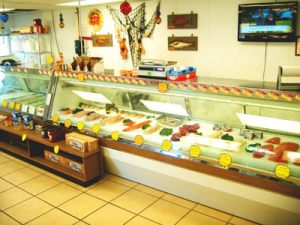 Bucks County Seafood, store