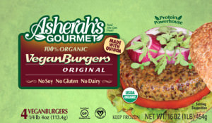 Asherah's Gourmet Vegan Burgers