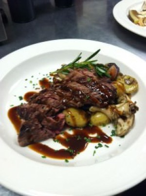 Bowman's grilled flank steak special