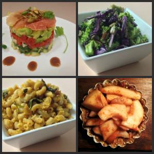 Vine Dining vegan food
