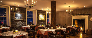 Golden pheasant dining room