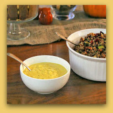 Pumpkin Cashew Cream Sauce; photo by H. Kirby