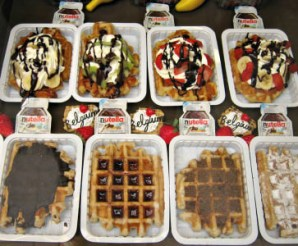 Nina's Waffles, photo courtesy of Nina's Waffles and Sweets