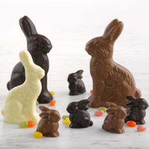chocolate-easter-bunnies_Lake Champlain Chocolates