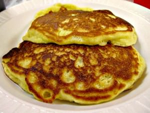 Cornbread pancakes at Hickory Kitchen_edit