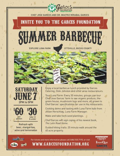 Garces Foundation Summer Barbecue