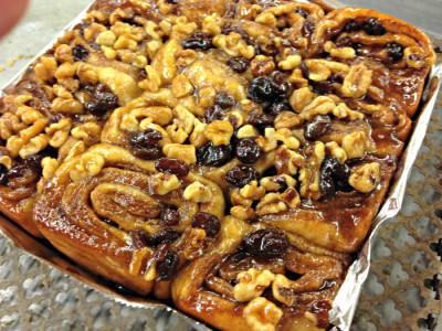 cinnamon buns_raisin and nuts_Central Bucks Senior Center
