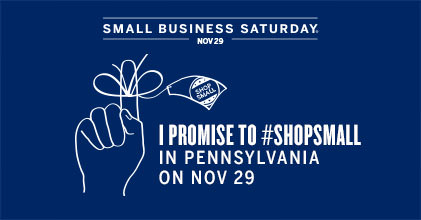 I promise to shop small Nov 29