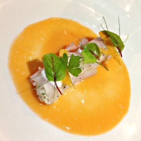 Crab and radish roll_Stockton Inn