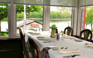 Table Overlooking River_King George II Inn