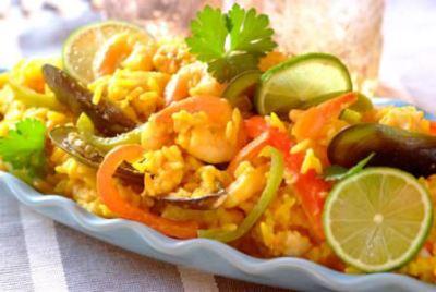 Seafood Dish, Mojito Cuba Caribe