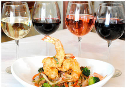 Wine Tasting Dinner, Washington House Restaurant