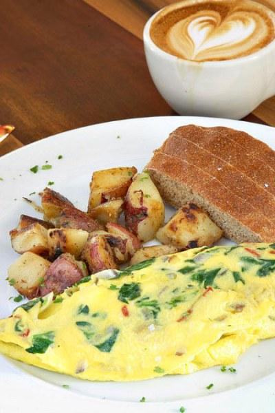 Caffe Galleria, Omelette