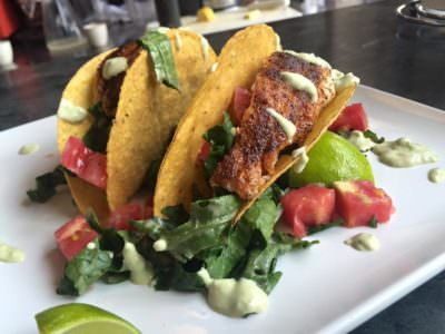 Red Snapper Tacos, Karlton Cafe