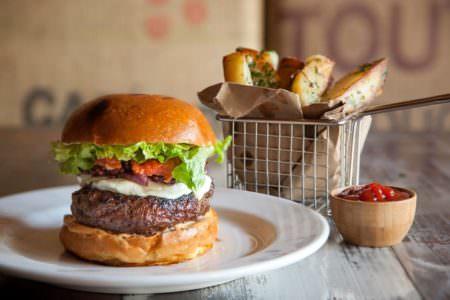Burgers, Hattery Stove & Still