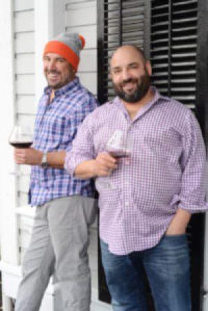 Joe Grande and Kris Tomasulo, Royal T's at the Mansion Inn