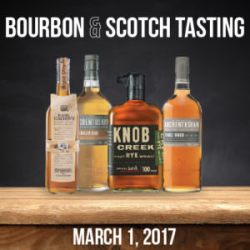 Different scotch and bourbons at McCoole's at the Red Lion Inn_Bucks County food events