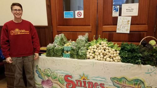 Snipes Farm at Yardley Farmers Market