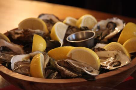 Oysters from Hamilton's Grill Room