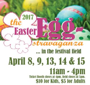 Easter eggstravaganza at Shady Brook Farm