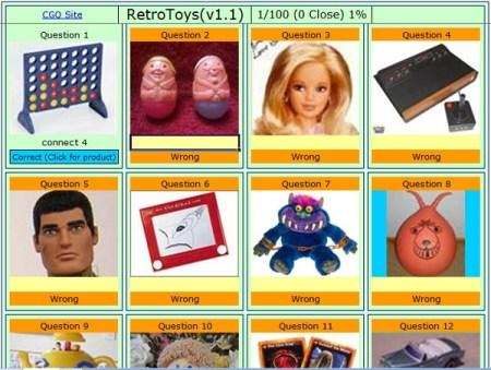 Retro Toys And Games Quiz Buckshaw Village