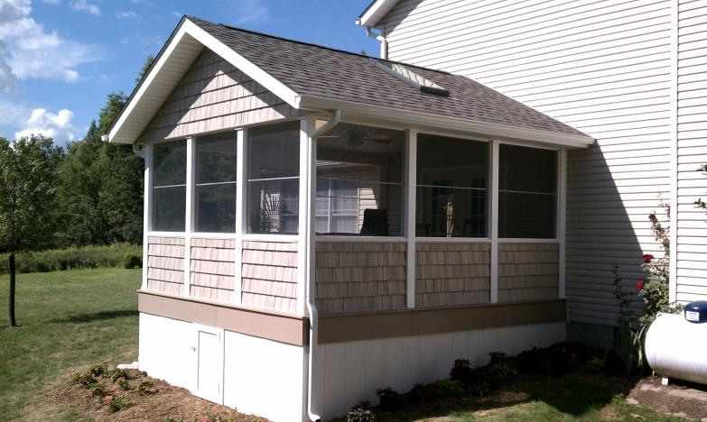 LowMaintenance Decks CompositePVC  Buckstone Building and Restoration Akron Canton Deck