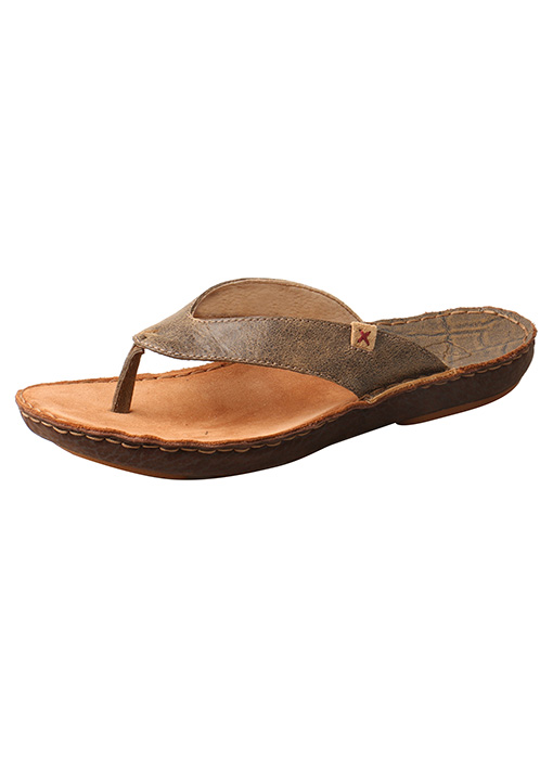 Twisted X Boots MCA0030 Casual Slip-On(Men's) -Brown Leather For Cheap For Sale Cheap Buy Authentic q6wvXV