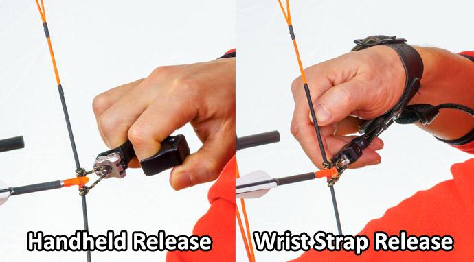 Wrist Strap Versus Handheld Release