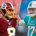 Dolphins vs Redskins week 1