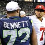 Michael Bennett says Seahawks' D has playoff vibe.