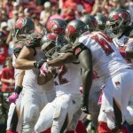 Buccaneers offensive line playing very well.