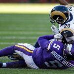 Vikings win, but big hit on Bridgewater leaves  bad taste in their mouths