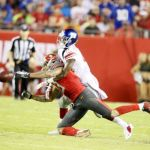 Mike Evans takes blame for loss.