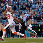 Mike Evans preps for the Panthers defense