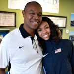 Randall Cunningham's daughter is headed to the Olympics.