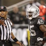 Raiders set a record for penalties yesterday