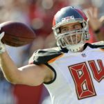Cameron Brate is done for the season.