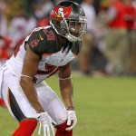 Hargreaves had a hand in both Bucs interceptions Sunday.