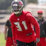 Rookies Davis and Whitehead Practicing Friday But Don't Look 100%
