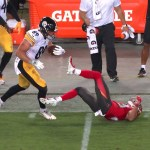 Vance McDonald Sympathetic of Conte's Injury.