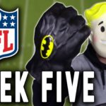 NFL: Three Interesting Games on the Week Five Slate