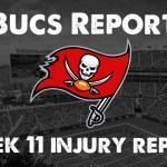 Buccaneers Final Injury Report.