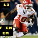 NFL: Fantasy Football Week Thirteen Start 'Em 'n' Sit 'Em