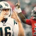 QB comparison:  Jameis Winston vs. Jared Goff