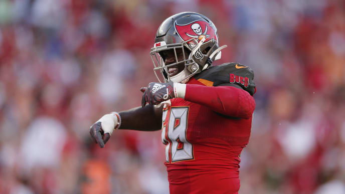 New York Giants v Tampa Bay Buccaneers | Michael Reaves/Getty Images